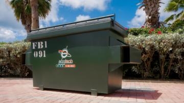 Waste Bin FL 1 YRD