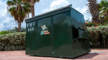 Waste Bin FL 4 YRD