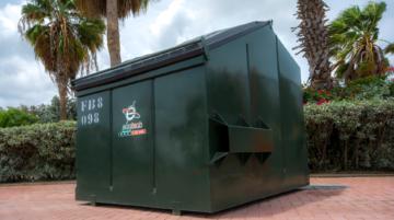 Waste Bin FL 8 YRD