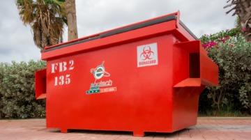 Medical Waste Bin FL 2 YRD