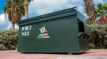 Waste Bin FL 2 YRD