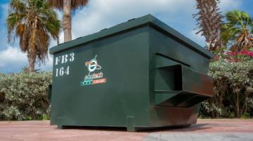 Waste Bin FL 3 YRD