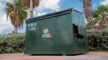 Waste Bin FL 6 YRD